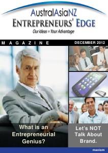 Entrepreneur's Edge December 2012