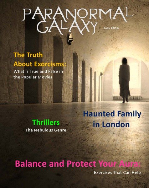 Paranormal Galaxy Magazine JULY 2014