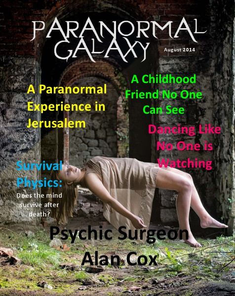 Paranormal Galaxy Magazine AUGUST 2014