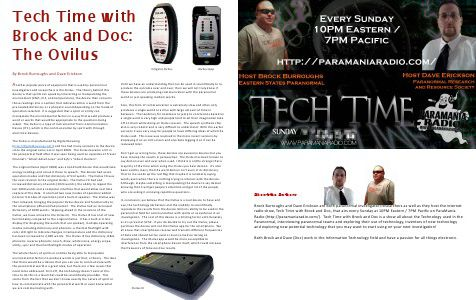 Paranormal Galaxy Magazine AUGUST 2014 - Page 12
