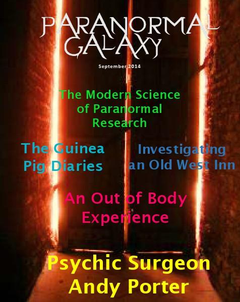 Paranormal Galaxy Magazine SEPTEMBER 2014