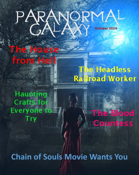 Paranormal Galaxy Magazine OCTOBER 2014