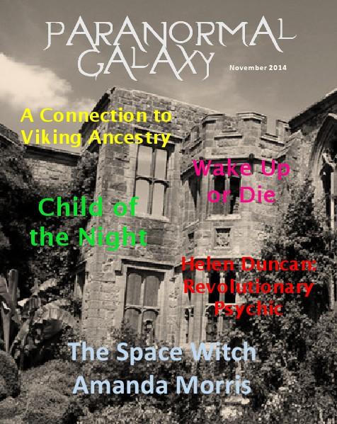 Paranormal Galaxy Magazine NOVEMBER 2014