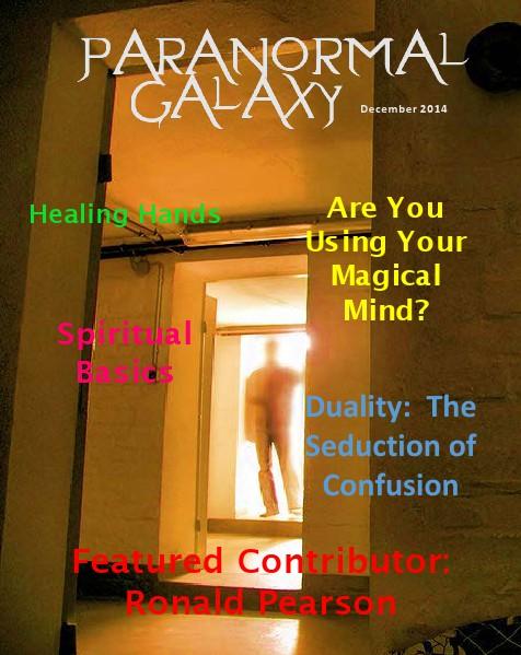 Paranormal Galaxy Magazine DECEMBER 2014