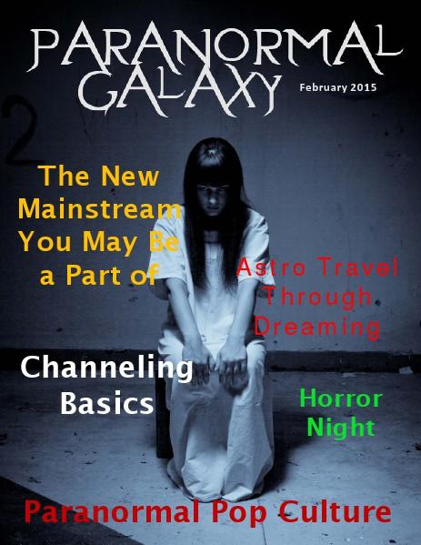 Paranormal Galaxy Magazine FEBRUARY 2015