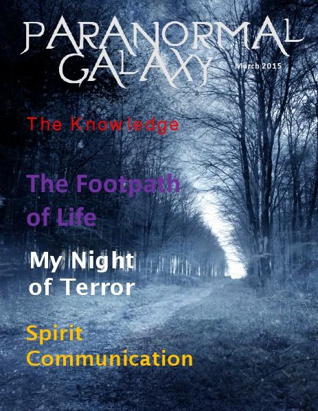 Paranormal Galaxy Magazine MARCH 2015