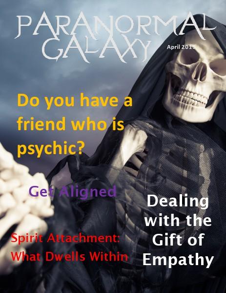 Paranormal Galaxy Magazine APRIL 2015