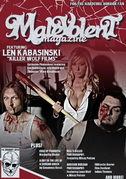 Malevolent Magazine #4 August 2014