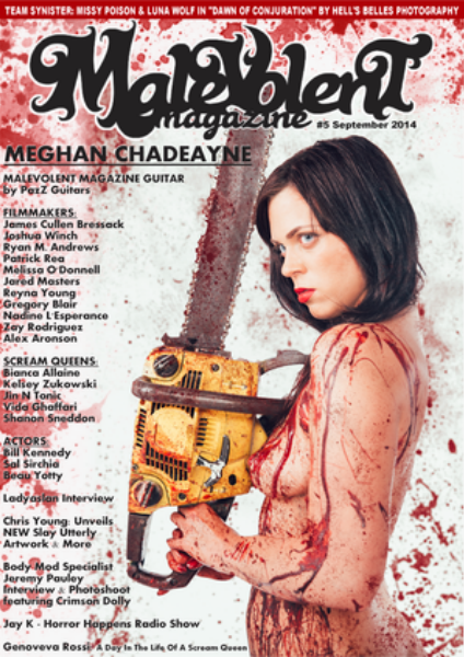 Malevolent Magazine #5 September 2014