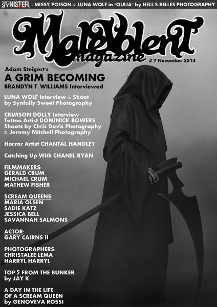 Malevolent Magazine #7 November 2014