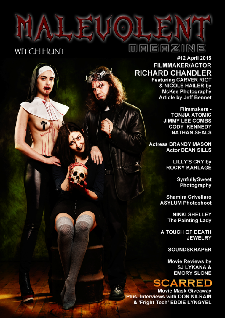 Malevolent Magazine #12 April 2015