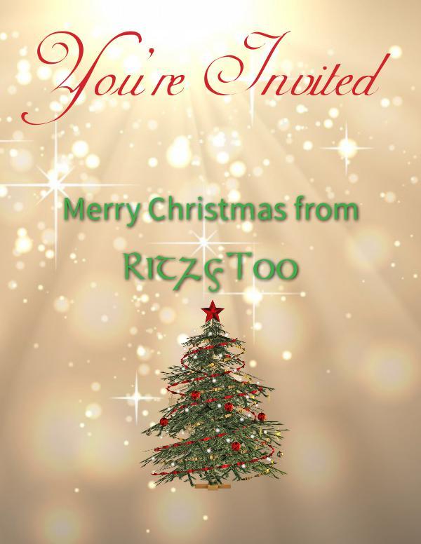 RitzyToo! Christmas Charity & Free Gift!