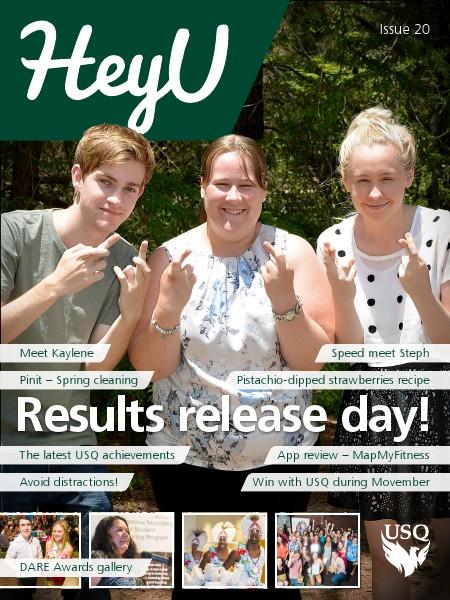 HeyU Issue 20 - 28 November 2014