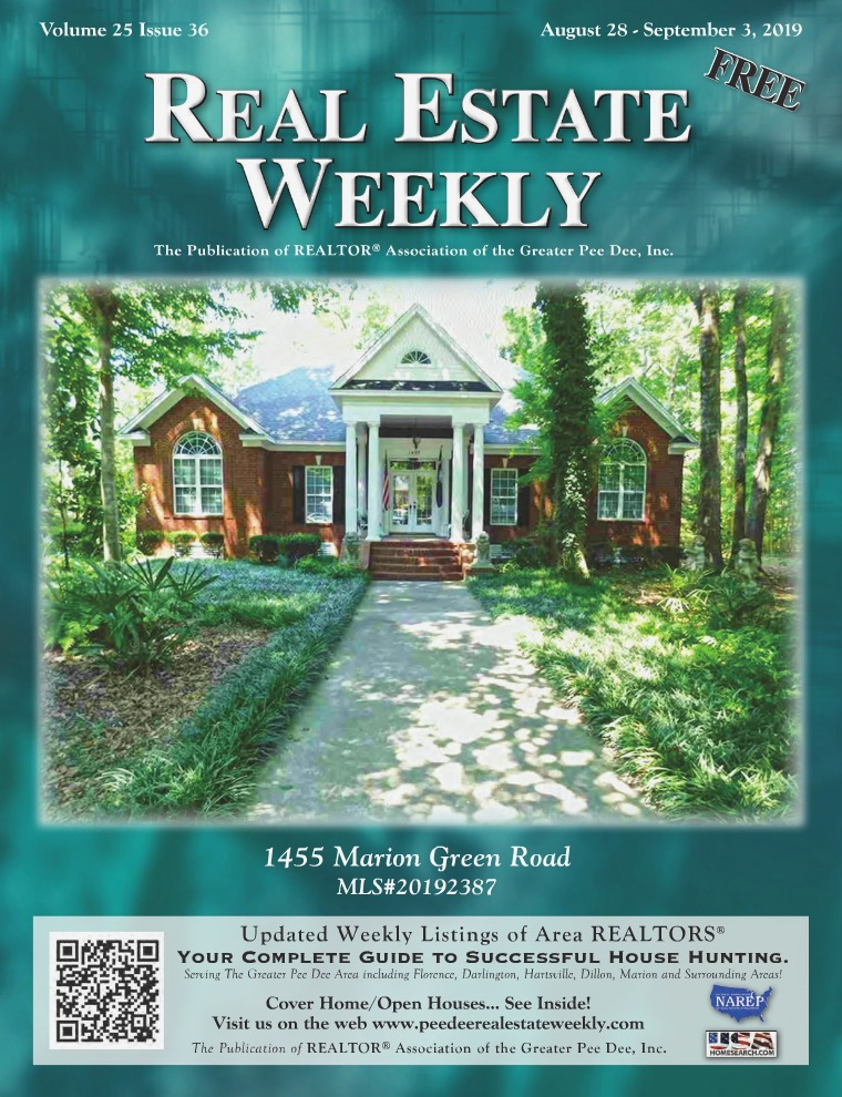 Real Estate Weekly Volume 25 Vol. 25, Iss. 36