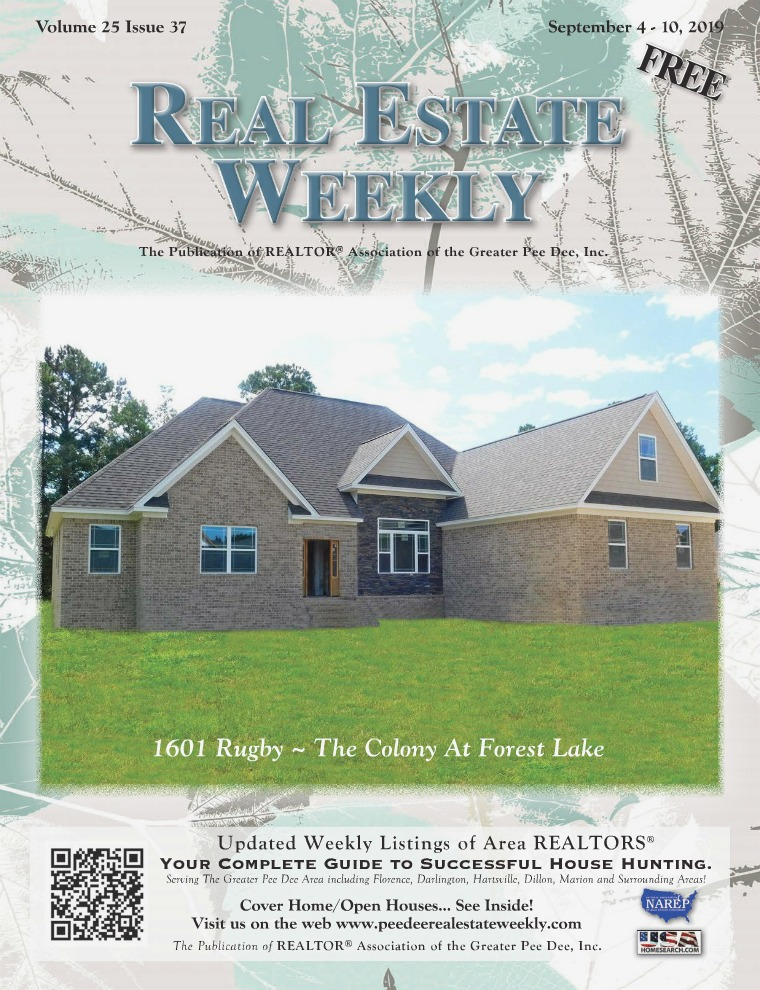 Real Estate Weekly Volume 25 Vol. 25, Iss. 37