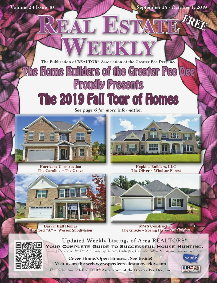Real Estate Weekly Volume 25 Vol. 25, Iss. 40