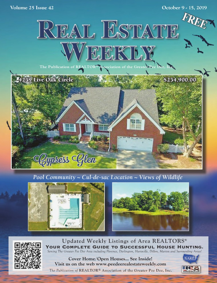 Real Estate Weekly Volume 26 Vol. 25, Iss. 42