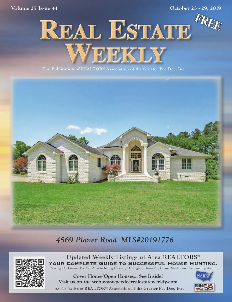 Real Estate Weekly Volume 25 Vol. 25, Iss. 44
