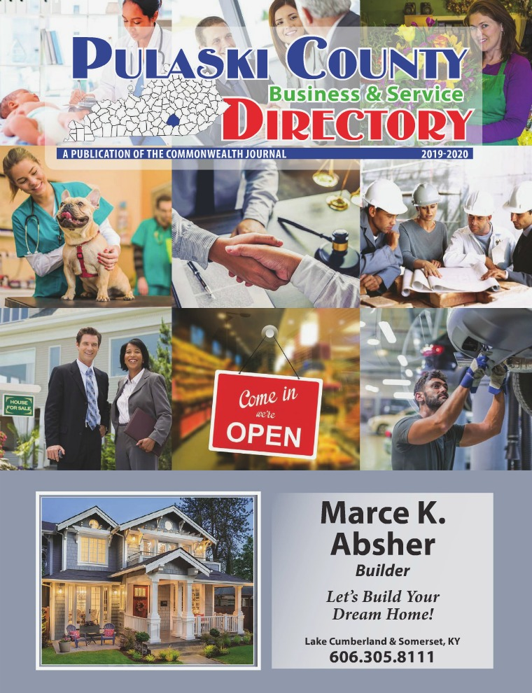 Pulaski County Business & Service Directory 2019-2020