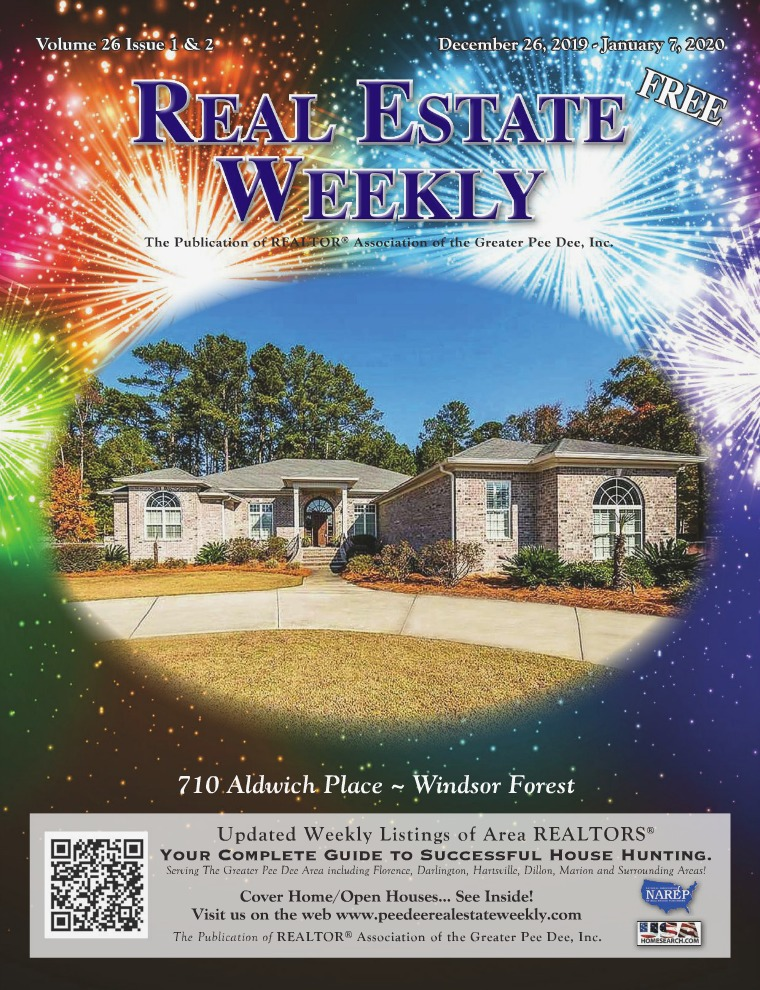 Real Estate Weekly Volume 26 Vol. 26, Iss. 1 & 2