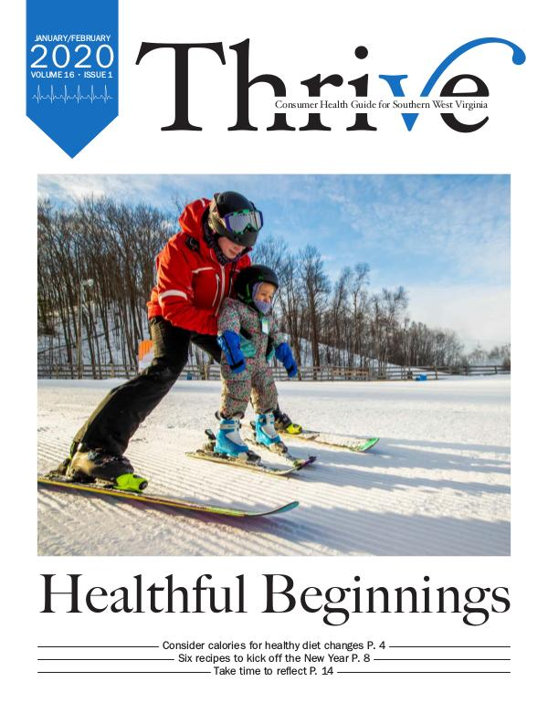 Thrive-Health Guide Southern West Virginia January-February 2020