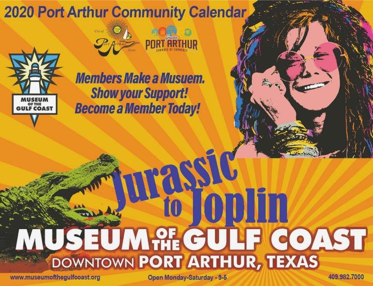 Port Arthur Community Calendar 2020