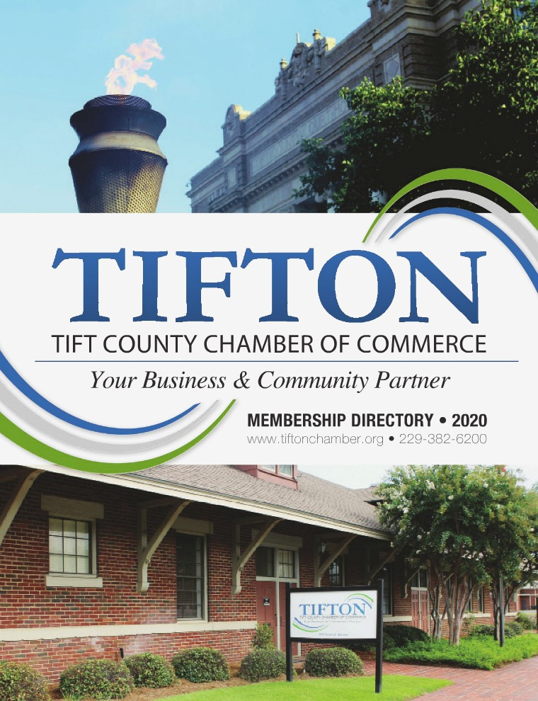 Tifton Chamber of Commerce Directory 2020