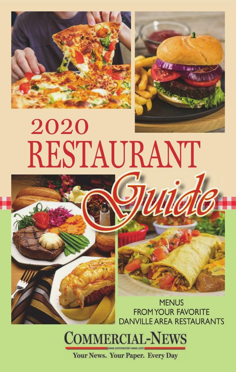 Restaurant Guide - Danville Area 2020