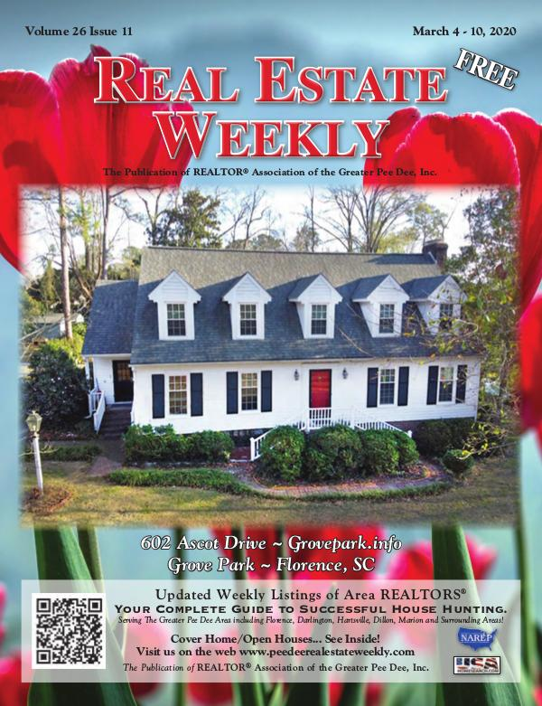 Real Estate Weekly Volume 26 Vol. 26, Iss. 11