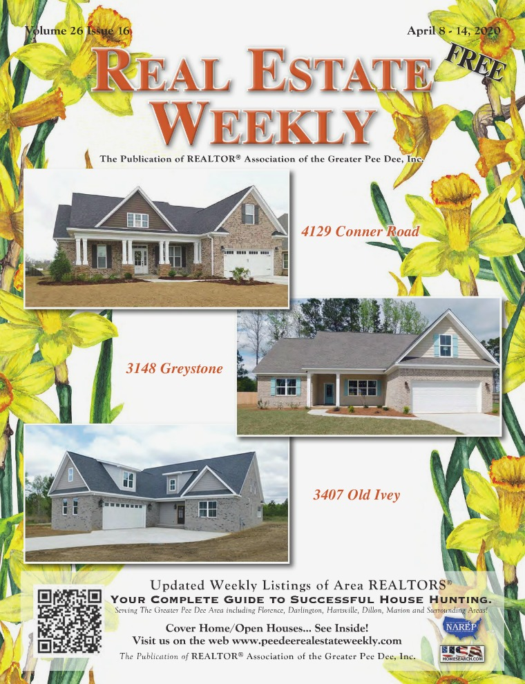 Real Estate Weekly Volume 26 Vol. 26, Iss. 16