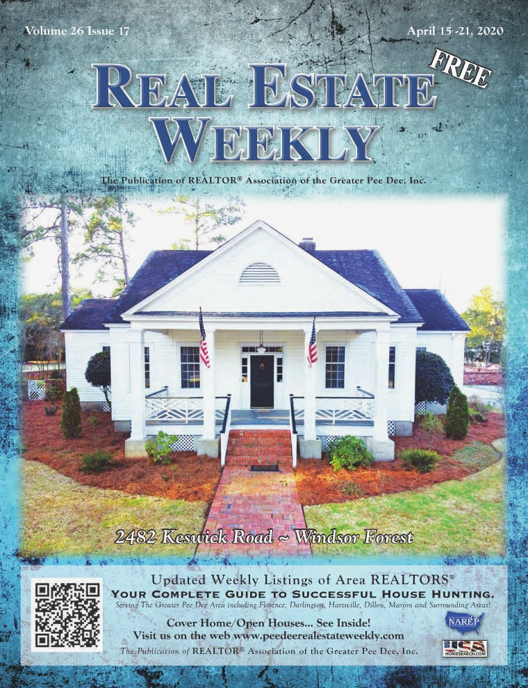 Real Estate Weekly Volume 26 Vol. 26, Iss. 17