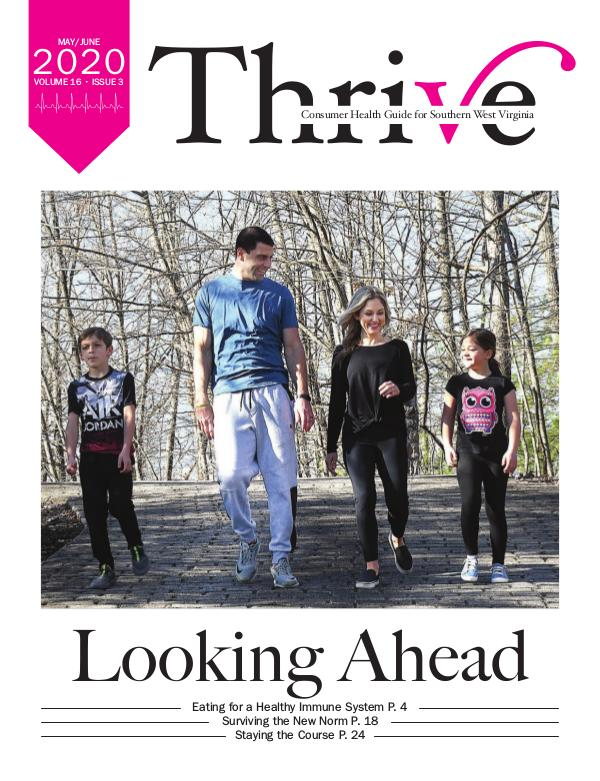Thrive-Health Guide Southern West Virginia May/June 2020