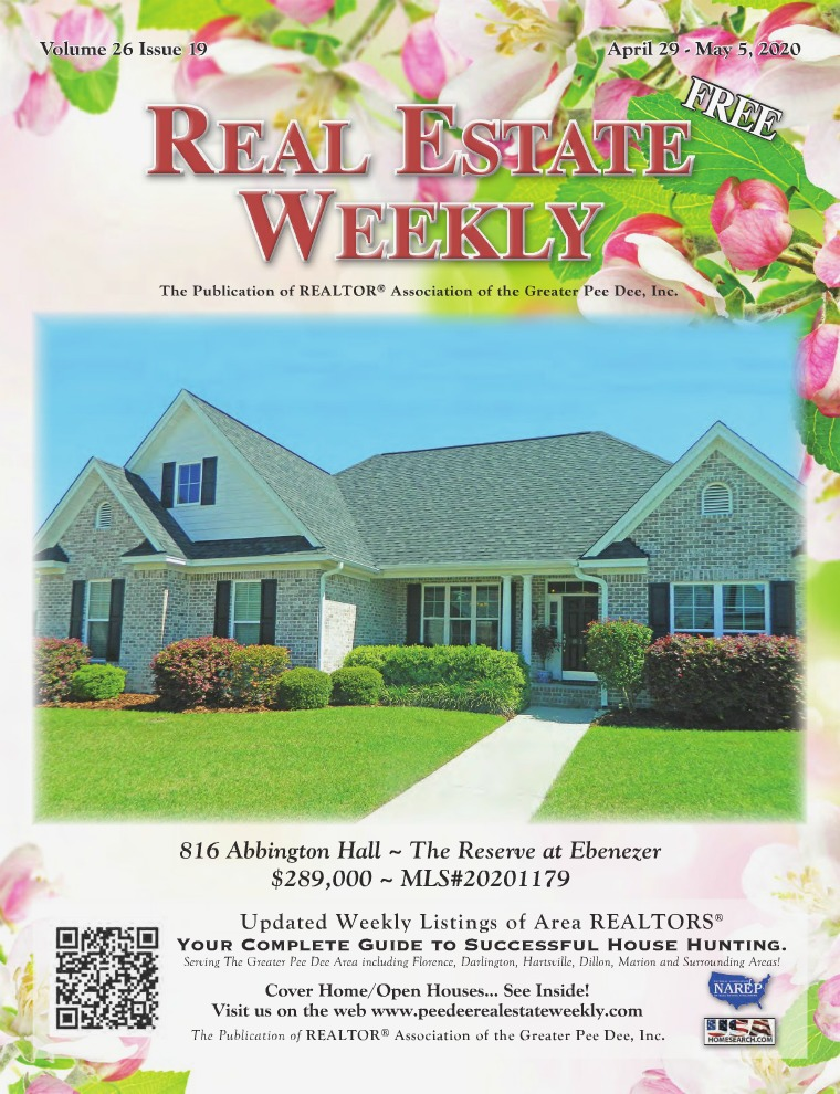 Real Estate Weekly Volume 26 Vol. 26, Iss. 19