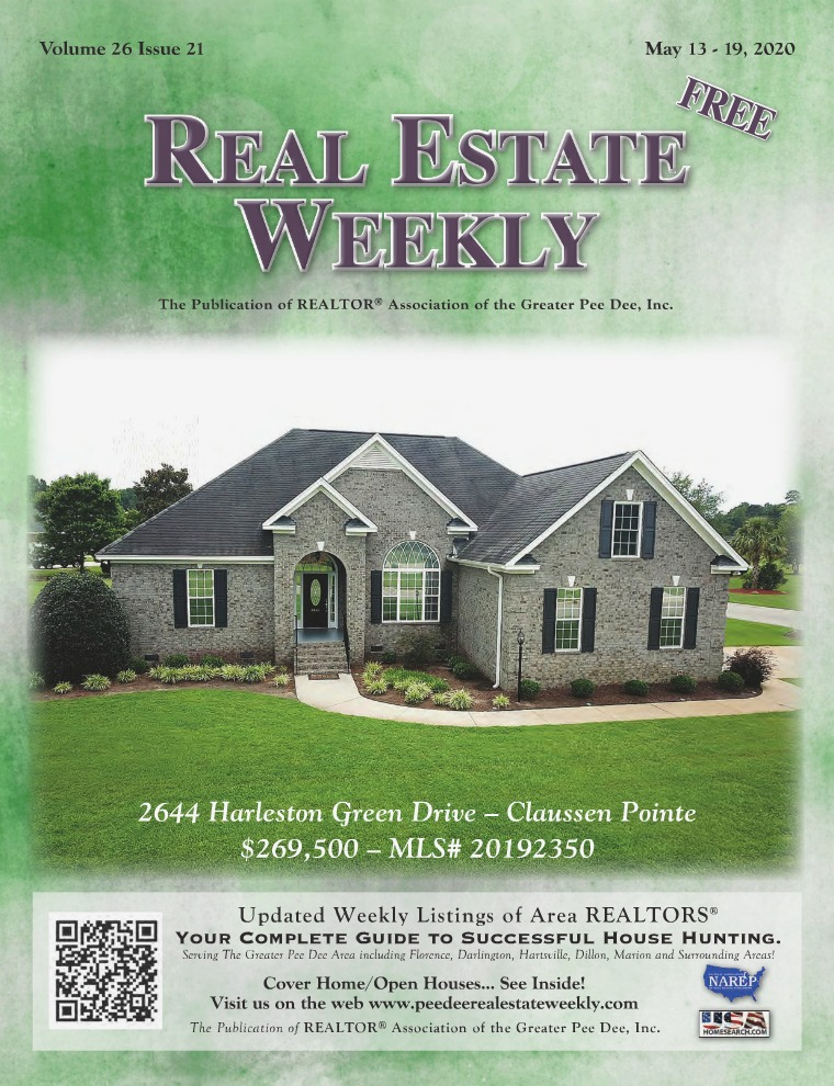 Real Estate Weekly Volume 26 Vol. 26, Iss. 21