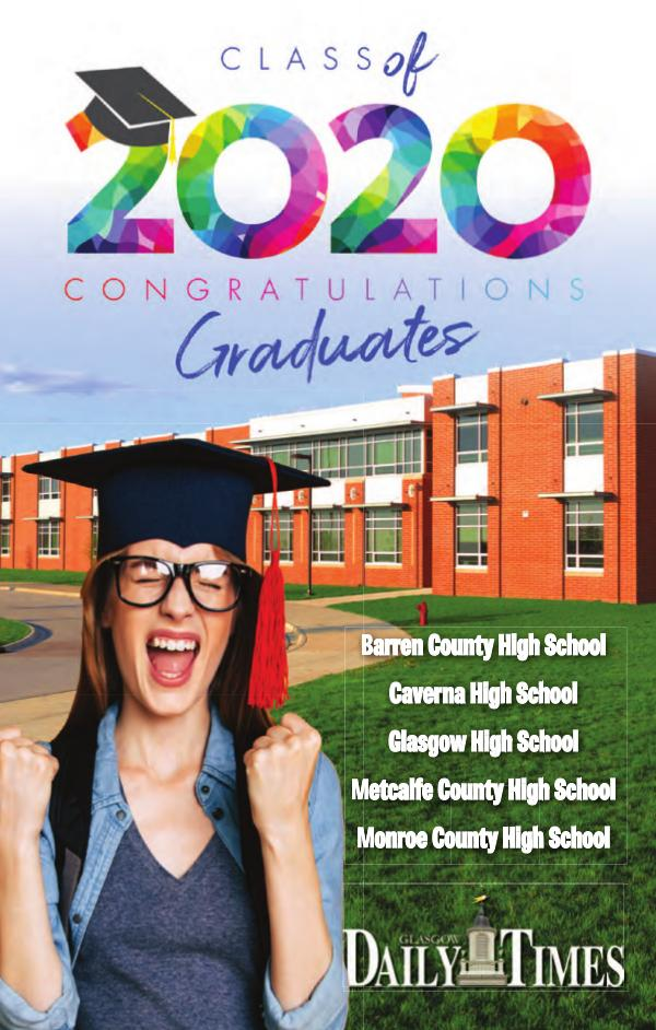 Graduation Barren County Oklahoma-Glasgow Daily Times 2020
