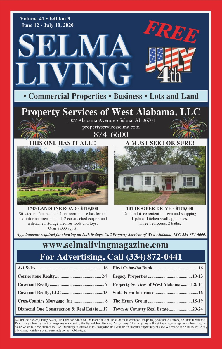 Selma Living Digest Volume 41, Edition 3