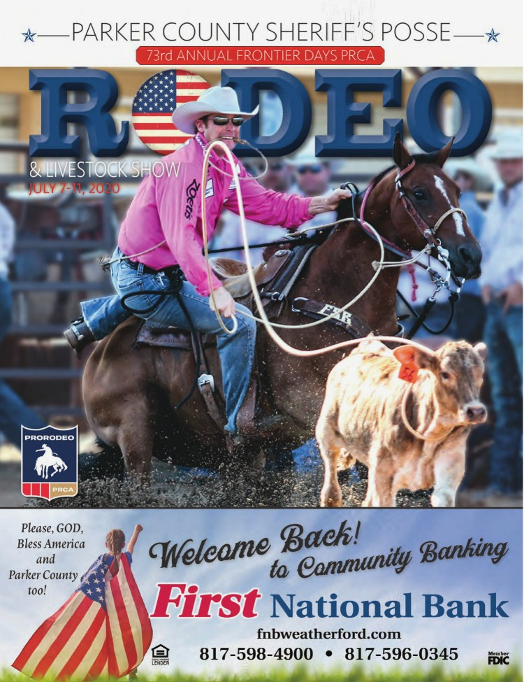 Parker County Texas Rodeo 2020