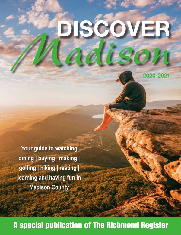 Discover Madison Kentucky 2020-2021