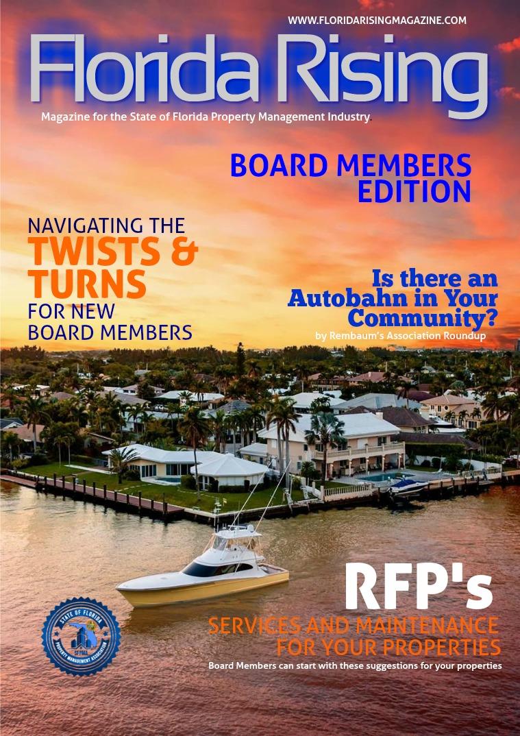 Florida Rising Magazine BOARD MEMBERS EDITION 2019