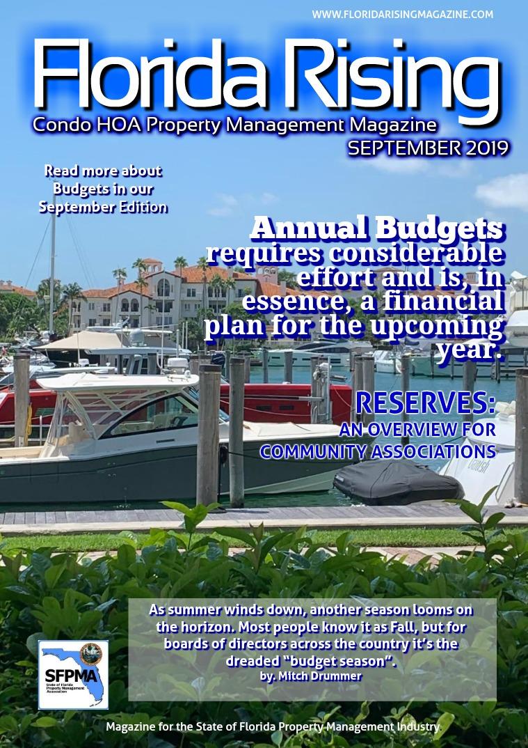 Florida Rising Magazine FRM SEPT 2019  Edition