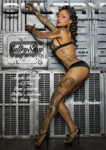 SULTRY Magazine The All Sexy Inked Edition