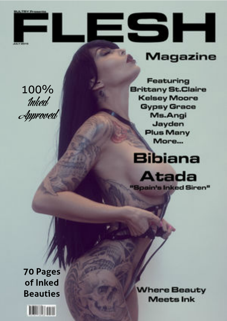 FLESH Magazine July/August Issue July Issue