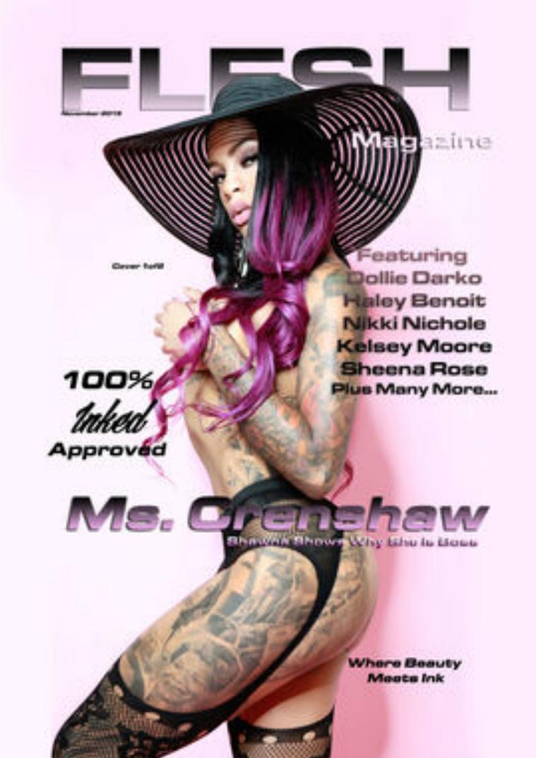 FLESH Magazine July/August Issue November Issue