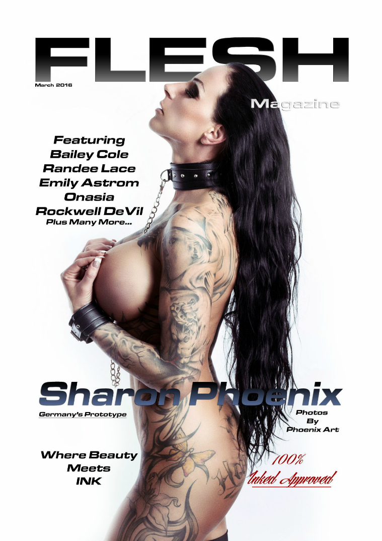 FLESH Magazine July/August Issue March Issue