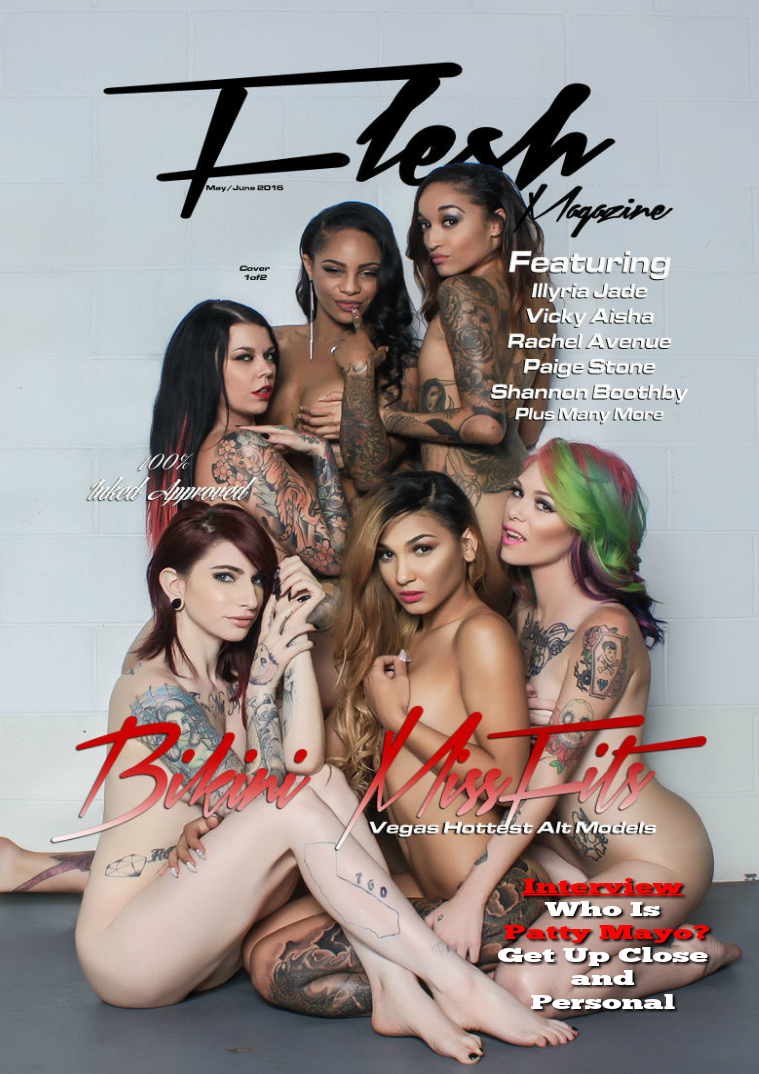 FLESH Magazine July/August Issue May/June Issue