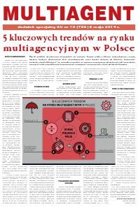 Gazeta Ubezpieczeniowa - dodatki specjalne MULTIAGENT - dodatek specjalny do GU 18/2014