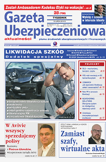 Gazeta Ubezpieczeniowa - prenumerata nr 28/2014