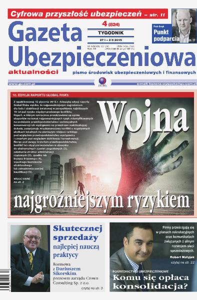 Gazeta Ubezpieczeniowa - wydanie elektroniczne nr 04/2015
