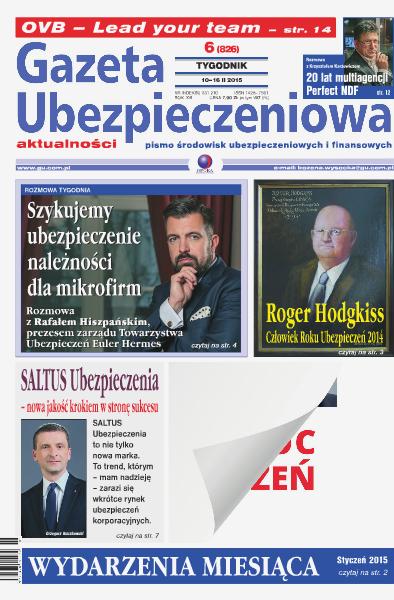 Gazeta Ubezpieczeniowa - wydanie elektroniczne nr 06/2015