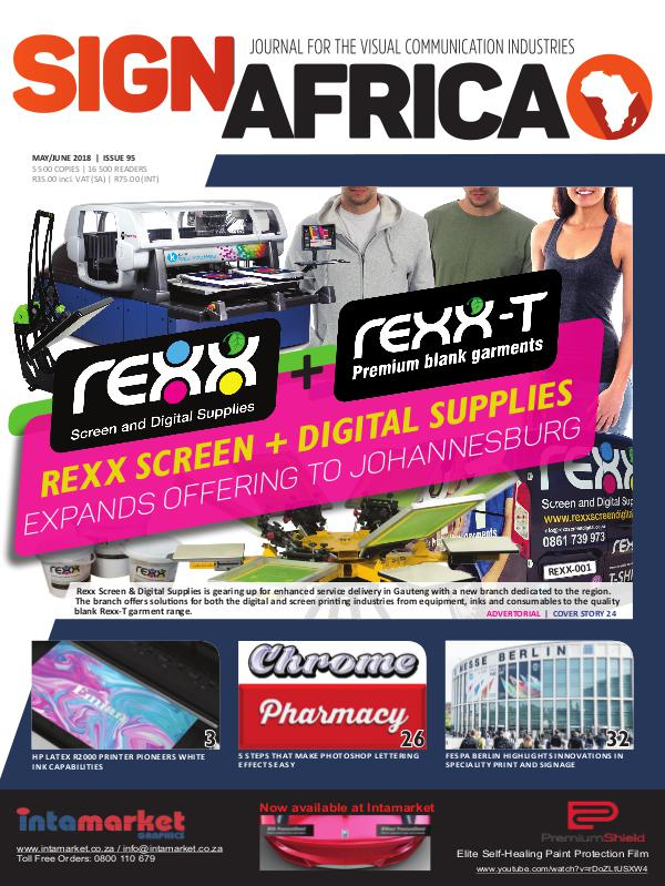 Sign Africa Journal May / June 2018